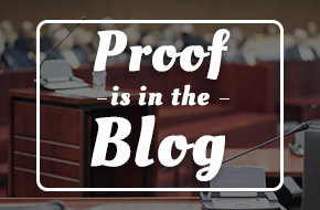 Proof is in the Blog
